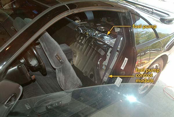 1995 300ZX TT Fuel Pump Control Module Location